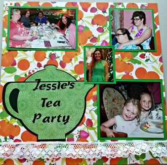 Jessie's Tea Party Guests 1