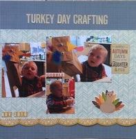 Turkey Day Crafting