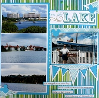 On the Lake - NSD Deanna's Shape challenge