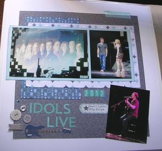Idols Live 2012