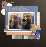 lil minion (May 2017 3 In A Row Challenge)