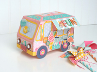 Ice Cream Truck Gift Box