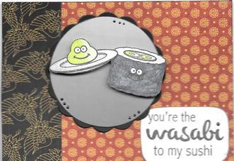 Wasabi to my Sushi