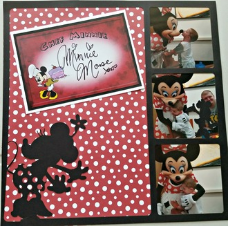 Minnie at Chef Mickey's