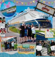 Family Vacation at Castaway Cay