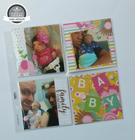 8X8 Pocket Pages (Baby Girl)