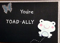 You're Toad-ally Awesome (June 2017 Card Challenge)