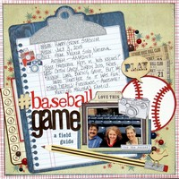 #Baseball Game: A Field Guide
