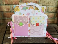 Girly Purse Mini Album 2 Purse