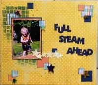 Full Steam Ahead/ 30/30- Day 19