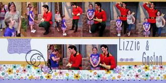Lizzie and Gaston