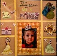 Imagine me a princess