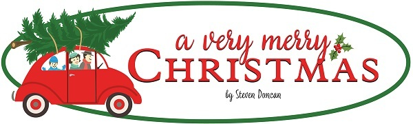 A Very Merry Christmas Carta Bella Echo Park Steven Duncan