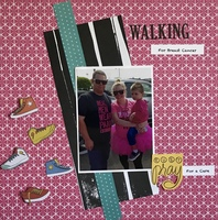 Walking for the cure.