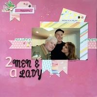 2 Men & a Lady