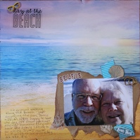 A Day at the Beach - Selfie