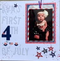 Ava's 1st 4th of July