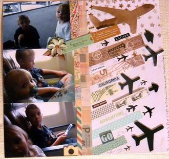1st airplane ride