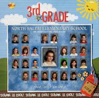 Abby 3rd grade class