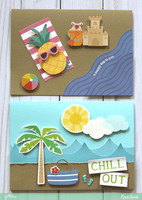 Beach Day Cards *Pebbles*