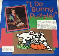 I Do Bunny Puzzle!