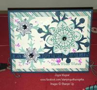 Christmas Cards - Snowflakes