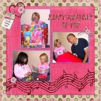 Cassady's Birthday, 2005
