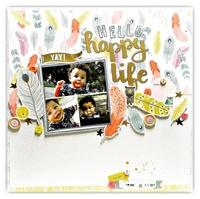 Hello happy life