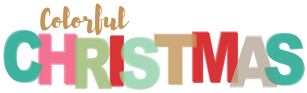 Colorful Christmas Authentique