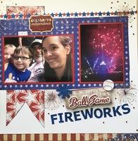 Ballgame Fireworks