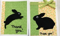 Thank you bunny cards