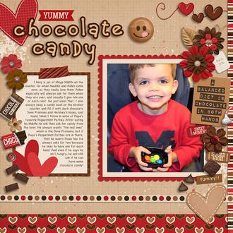 Yummy Chocolate Candy