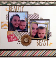 Beauty and the Beast (August 2017 Title Challenge)