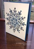 3D Snowflake Cards