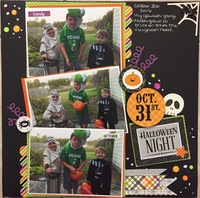 Oct 31st Halloween Night