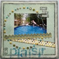 Jumping in the Pool... this is Fun (Sauter dans la piscine ça c'est du plaisir)