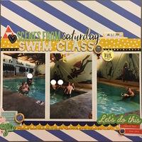 Scenes from Saturday Swim Class