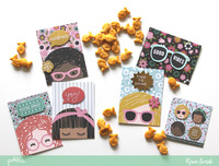 Lunchbox Note Cards *Pebbles*