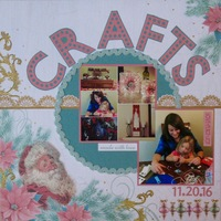 Christmas Crafts (made with love)