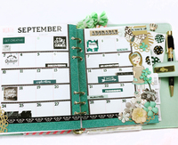 Planner Pages with Zella Teal