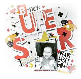 Hey super star