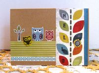 Note Card Owl Brad