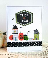 Halloween Card Houses