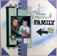 There Is Nothing More Precious Than Family (Sept 2017 Guest Designer Challenge #
