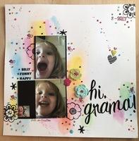 Hi, Grama!