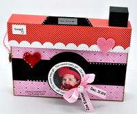 Camera Treat Cup Keepsake box