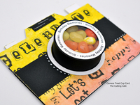 camera treat cup card