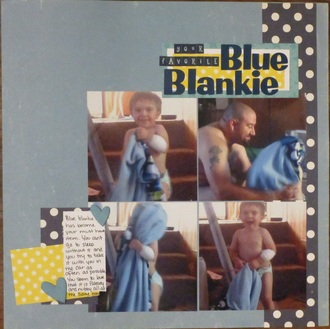 Your Favorite Blue Blankie