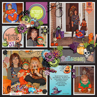 Daniels First Halloween