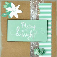Mint Wishes Cards